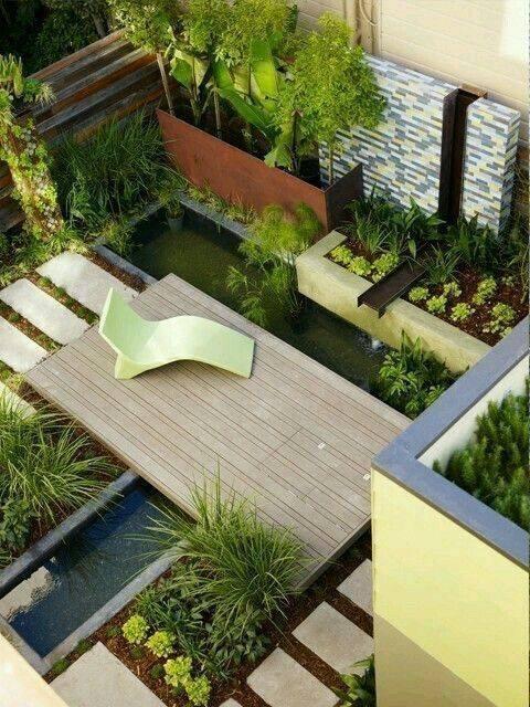 aménagement de jardin moderne