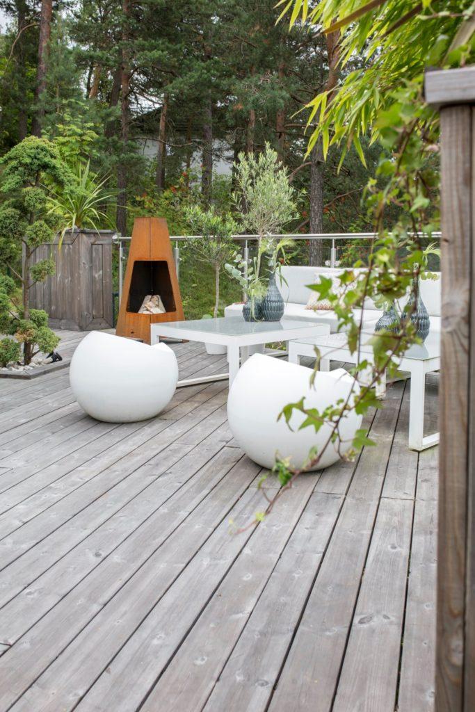 terrasse pin radiata traité écologiquement